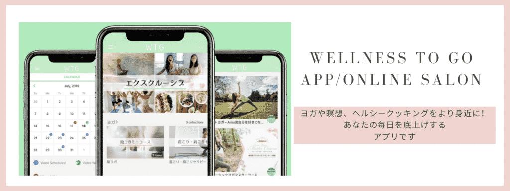 wellness to go アプリ